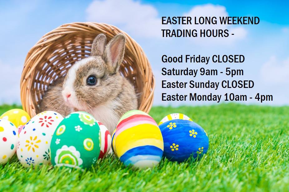 Plus Easter Acitivities on at Burwood Plaza.  Check our Facebook Page!